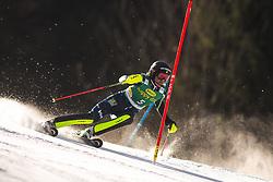 Anna Swenn Larsson (SWE) during the Ladies' Slalom at 56th Golden Fox event at Audi FIS Ski World Cup 2019/20, on February 16, 2020 in Podkoren, Kranjska Gora, Slovenia. Photo by Matic Ritonja / Sportida