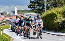 25.04.2018, Innsbruck, AUT, ÖRV Trainingslager, UCI Straßenrad WM 2018, im Bild Stefan Denifl (AUT), Mario Gamper (AUT), Patrick Konrad (AUT), Laura Stigger (AUT), Gregor Mühlberger (AUT) // during a Testdrive for the UCI Road World Championships in Innsbruck, Austria on 2018/04/25. EXPA Pictures © 2018, PhotoCredit: EXPA/ JFK