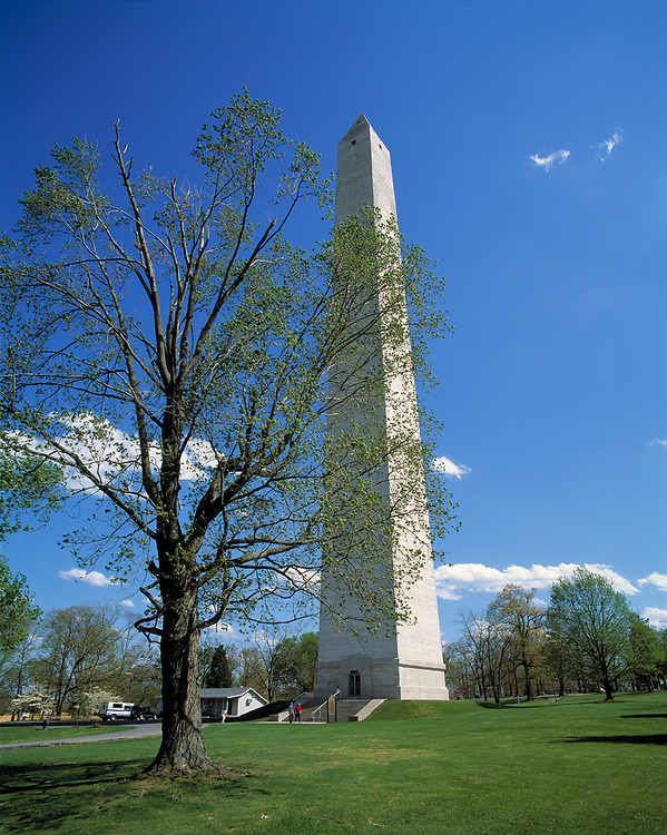 The Salute to Kentucky Monument is on the birthsite of Jefferson Davis in Fairview, Kentucky.