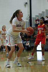18 February 2019:  Rock Island Rocks v Normal Community Ironmen for the 1st round IHSA Girl's Sectional in the gym at Normal West in Normal IL