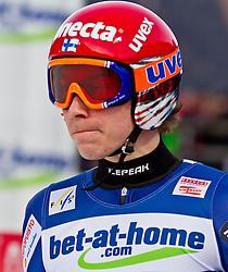 05.02.2011, Heini Klopfer Skiflugschanze, Oberstdorf, GER, FIS World Cup, Ski Jumping, Finale, im Bild Janne Happonen (FIN) , during ski jump at the ski jumping world cup in Oberstdorf, Germany on 05/02/2011, EXPA Pictures © 2011, PhotoCredit: EXPA/ P. Rinderer