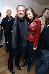 HAMISH McALPINE and CAROLE SILLER at a private view of an exhibition entitled Animal Magic featuring work by various artists held at Eleven, 11 Eccleston Street, London SW1 on 30th April 2008.<br /><br />NON EXCLUSIVE - WORLD RIGHTS