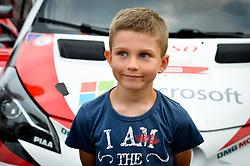 June 29, 2017 - Mikolajki, Mazurie, Pologne - Enfant (Credit Image: © Panoramic via ZUMA Press)