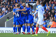 GOAL Aaron Wilbraham celebrates his goal 1-0  during the EFL Sky Bet League 1 match between Rochdale and Portsmouth at Spotland, Rochdale, England on 29 September 2018.
