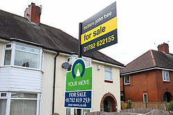 A house remains for sale due to the housing market grinding to a halt with sellers being told by the government to postpone house moves if possible as the UK continues in lockdown to help curb the spread of the coronavirus.