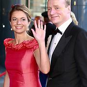 NLD/Amsterdam/20110527 - 40ste verjaardag Prinses Maxima,Prins Carlos en Prinses Annemarie