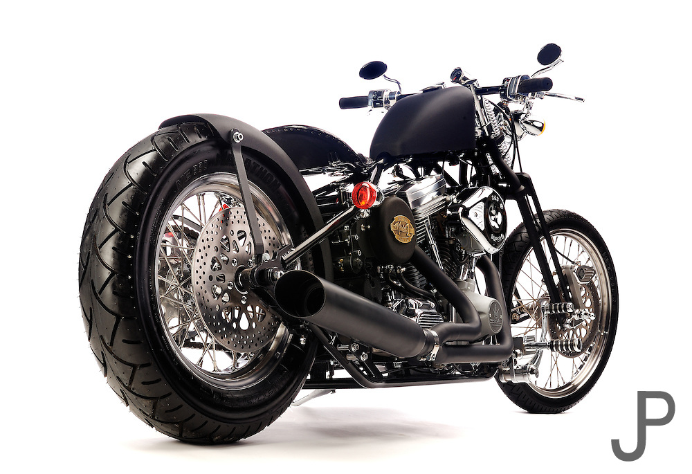 Darwin Motorcycle's Brass Ball Bobber Model 1