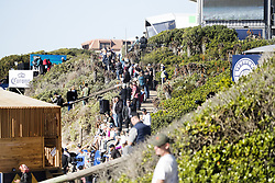 July 19, 2017 - Standing room only at the Corona Open J-Bay with pumping Supertubes, Jeffreys Bay, South Africa...Corona Open J-Bay, Eastern Cape, South Africa - 19 Jul 2017. (Credit Image: © Rex Shutterstock via ZUMA Press)