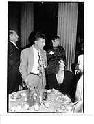 Dustin Hoffman and Lisa Hoffman, Avalon, Met, 27 Sept '90© Copyright Photograph by Dafydd Jones 66 Stockwell Park Rd. London SW9 0DA Tel 020 7733 0108 www.dafjones.com