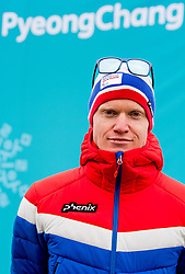 March 7, 2018 - Pyeongchang, SOUTH KOREA - 180307 HÅ'kon GrÂ¿nsveen Olsrud of Norway poses for a portrait picture during a press event ahead of the 2018 Winter Paralympics on March 7, 2018 in Pyeongchang..Photo: Vegard Wivestad GrÂ¿tt / BILDBYRN / kod VG / 170107 (Credit Image: © Vegard Wivestad Gr¯Tt/Bildbyran via ZUMA Press)