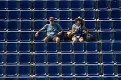 18-07-2014 NED: FIVB Grand Slam Beach Volleybal, Scheveningen<br /> Knock out fase - Veel publiek kwam er nog niet kijken bij de eerste knock out ronde