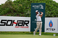 Pablo Larrazabal (ESP) on the 2nd during Round 1 of the Oman Open 2020 at the Al Mouj Golf Club, Muscat, Oman . 27/02/2020<br /> Picture: Golffile   Thos Caffrey<br /> <br /> <br /> All photo usage must carry mandatory copyright credit (© Golffile   Thos Caffrey)