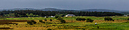 A view of the Club House from the 6th tee during Round 3 of the Ulster Boys Championship at Donegal Golf Club, Murvagh, Donegal, Co Donegal on Friday 26th April 2019.<br /> Picture:  Thos Caffrey / www.golffile.ie