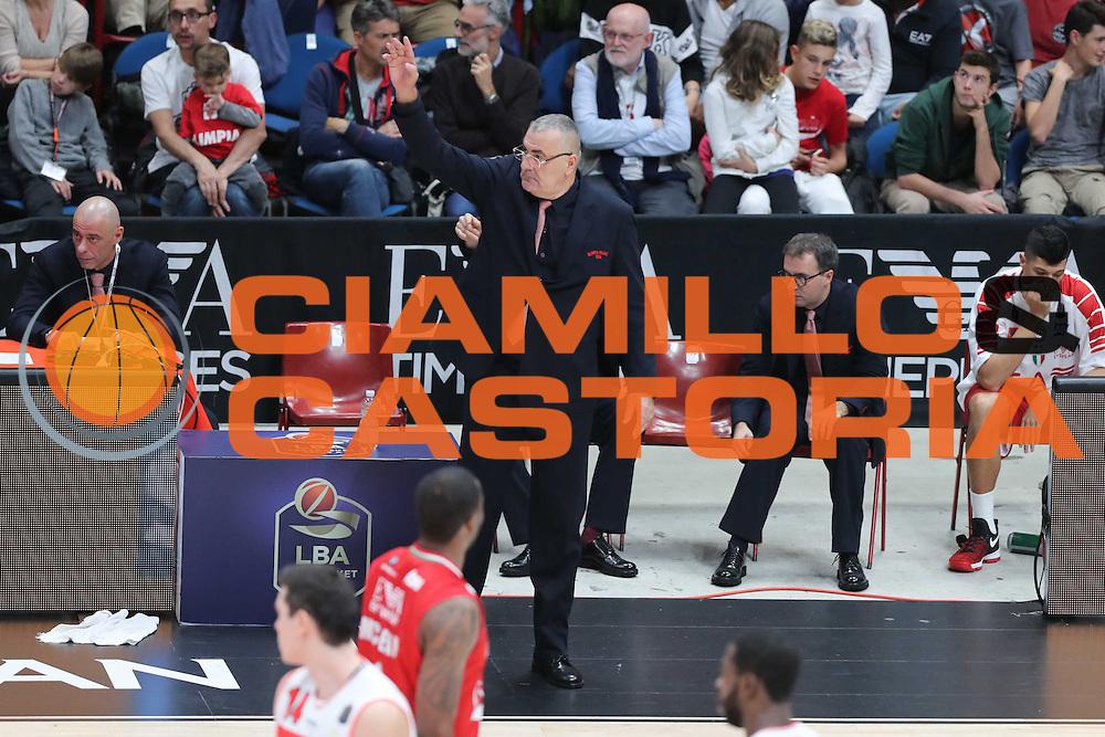 MILANO 16 Ottobre 2016<br /> EA7 Emporio Armani Olimpia Milano - Openjobmetis Pallacanestro Varese<br /> NELLA FOTO Jasmin Repesa<br /> FOTO CIAMILLO