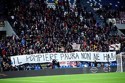 """Foto LaPresse/Filippo Rubin<br /> 08/11/2019 Reggio Emilia (Italia)<br /> Sport Calcio<br /> Sassuolo - Bologna - Campionato di calcio Serie A 2019/2020 - Stadio """"Mapei stadium""""<br /> Nella foto: <br /> <br /> Photo LaPresse/Filippo Rubin<br /> November 08th, 2019 Reggio Emilia (Italy)<br /> Sport Soccer<br /> Sassuolo vs Bologna - Italian Football Championship League A 2019/2020 - Mapei Stadium<br /> In the pic:"""