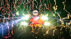 07.11.2015, Kaprun, AUT, WOW Glacier Love Festival, im Bild Übersicht der Mainstage während Loadstar, Xample & Lomax // Overview of the Mainstage with Loadstar, Xample & Lomax during the WOW Glacier Love Winter Opening Festival in Kaprun, Austria on 2015/11/07. EXPA Pictures © 2015, PhotoCredit: EXPA/ JFK