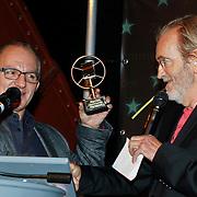 NLD/Amsterdam/20101022 - Televiziergala 2010 - uitreiking Radioring, Jeroen van Inkel en Lex Harding
