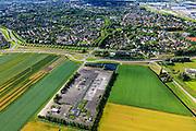 Nederland, Zuid-Holland, Barendrecht, 15-07-2012; voormalige gaswinlocatie van de NAM, Barendrecht-Ziedewij. Het gasveld staat op de nominatie om gebruikt te worden voor CO2-opslag..Former gas field of NAM (Dutch Petroleum Company). The gas field has been nominated to be used for CO2 storage..luchtfoto (toeslag), aerial photo (additional fee required).foto/photo Siebe Swart
