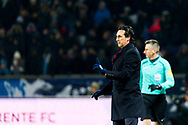 Emery Unai (psg) during the French Cup football match between Paris Saint-Germain and Marseille on February 28, 2018 at Parc des Princes Stadium in Paris, France - Photo Pierre Charlier / ProSportsImages / DPPI