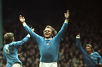 Fotball<br /> England <br /> Foto: Colorsport/Digitalsport<br /> NORWAY ONLY<br /> <br /> FRANCIS LEE - MANCHESTER CITY CELEBRATES HIS GOAL.  MANCHESTER CITY V LIVERPOOL, 12/04/74