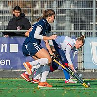 AMSTELVEEN - /s6/ tijdens de competitie hoofdklasse hockeywedstrijd dames, Pinoke-SCHC (1-8) . COPYRIGHT KOEN SUYK
