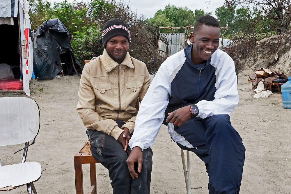 Friends, The Jungle, refugee camp, France