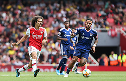 Matteo Guendouzi of Arsenal passes the ball - Mandatory by-line: Arron Gent/JMP - 28/07/2019 - FOOTBALL - Emirates Stadium - London, England - Arsenal v Olympique Lyonnais - Emirates Cup