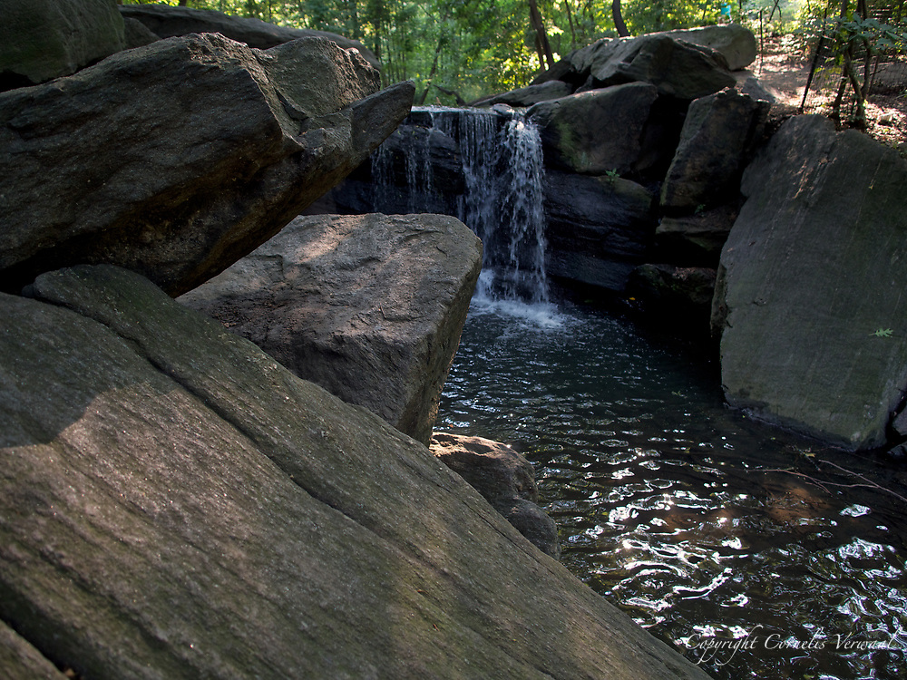 Waterfall in the Ravine of Central Park