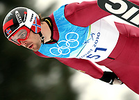 OL 2010 Vancouver<br /> 13.02.2010<br /> Kombinert<br /> Foto: Gepa/Digitalsport<br /> NORWAY ONLY<br /> <br /> Olympische Winterspiele Vancouver 2010, Training. Bild zeigt Magnus Moan (NOR).