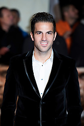 Cesc Fabregas arrives at the I am Bolt world premiere at the Odeon Leicester Square, London.  Picture date: Monday 28th November 2016. Photo credit should read: © DavidJensen/EMPICS Entertainment