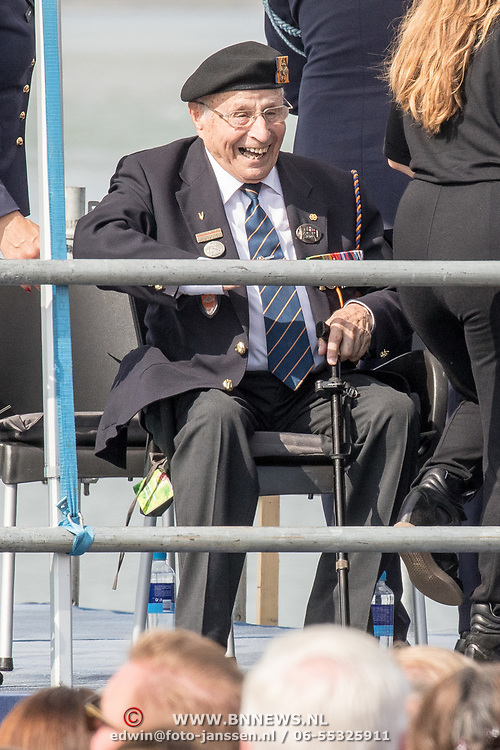 NLD/Terneuzen/20190831 - Start viering 75 jaar vrijheid, Oorlogsveteraan Max Wolff
