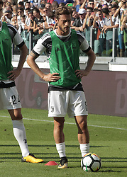 August 19, 2017 - Turin, Italy - Claudio Marchisio during Serie A match between Juventus v Cagliari, in Turin, on August 19, 2017  (Credit Image: © Loris Roselli/NurPhoto via ZUMA Press)
