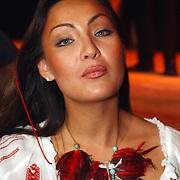 Modeshow CQ models, Brigitte Hamers