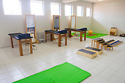 Jequitinhonha_MG, Brasil...Hospital Viva Vida em Jequitinhonha, Minas Gerais. Na foto sala de fisioterapia...Viva Vida hospital in Jequitinhonha, Minas Gerais. In this photo physiotherapy room. ..Foto: NIDIN SANCHES / NITRO