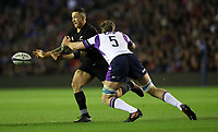 Rugby Union - 2017 Autumn Internationals - Scotland vs. New Zealand<br /> <br /> Sonny Bill Williams of New Zealand and Jonny Gray of Scotland at Murrayfield.<br /> <br /> COLORSPORT/LYNNE CAMERON