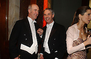 Charles Saumeraz Smith and Colin Mckenzie,  Belle Epoche gala fundraising dinner. National Gallery. 16 March 2006. ONE TIME USE ONLY - DO NOT ARCHIVE  © Copyright Photograph by Dafydd Jones 66 Stockwell Park Rd. London SW9 0DA Tel 020 7733 0108 www.dafjones.com