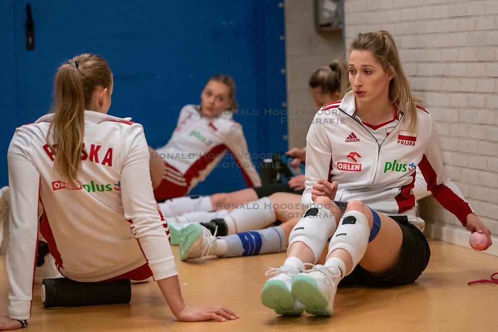 30-05-2019 NED: Volleyball Nations League Netherlands - Poland, Apeldoorn<br /> Klaudia Alagierska #3 of Poland