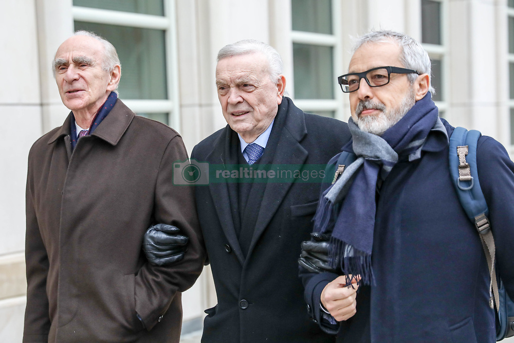 Former Brazilian Football Confederation (CBF) president José Maria Marin arrives at the Federal Court in Brooklyn, New York, in the United States for another day of his trial before the US Justice Court on Friday, 22. (Foto: William Volcov)