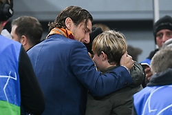 November 27, 2018 - Rome, Italy - Francesco Totti during the Champions league football match between AS Roma  and Real Madrid at Olimpico stadium in Rome, Italy, on November 27, 2018. (Credit Image: © Federica Roselli/NurPhoto via ZUMA Press)
