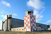 Control Tower and Blimp Hangar at Tustin MCAS