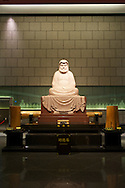 The Great Majestic Hall has many beautiful statues of the Buddha and other dieties.