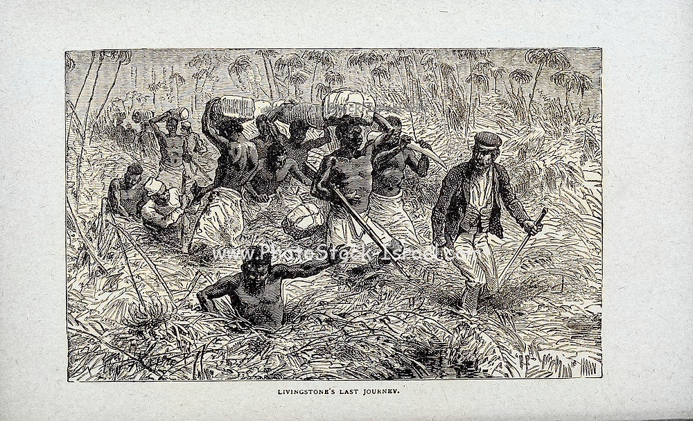 Levingstone's Last Journey From the book ' David Livingstone ' by Brice, A. H. M. (Arthur Hallam Montefiore), 1859-1927 Published by United Brethren Pub. House, Dayton, Ohio in 1880