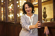 "Portrait of Catarina Portas, owner of the shop ""A vida portuguesa"" (Portuguese Life) in Lisbon's Chiado district, that sells vintage portuguese goods that range from original ceramics from Rafael Bordalo Pinheiro creations, to soaps, notebooks and canned fish. Catarina was nominated by Monocle one of the 20 people in the world that deserved a bigger stage."