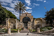 Cagliari e la chiesa di San Saturnino.
