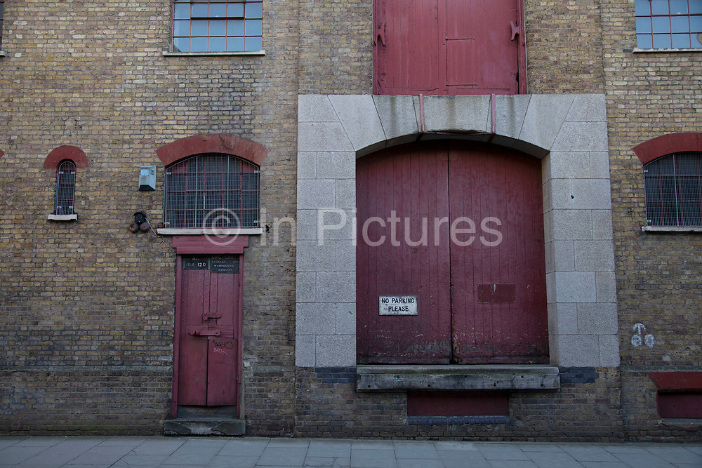 King Henrys Wharf in Wapping, London, England, United Kingdom. King Henrys Wharf is an iconic Grade II Listed Victorian riverside warehouse building, which is due to be restored to provide accommodation in a historical environment.