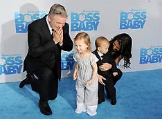 LA: Boss Baby Premiere - 20 March 2017