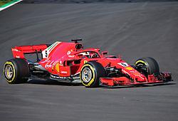 March 6, 2018 - Barcelona, Spain - the Ferrari of Sebastian Vettel during the Formula 1 tests at the Barcelona-Catalunya Circuit, on 06th March 2018 in Barcelona, Spain.  Photo: Joan Valls/Urbanandsport /NurPhoto. (Credit Image: © Joan Valls/NurPhoto via ZUMA Press)