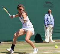 Tennis - The Wimbledon Championships -<br /> Sabina Sharipova ( UZB ) vs. Ulrikke Eiken ( NOR )<br /> Ulrikke Eiken ( NOR )<br /> at the All England Lawn Tennis and Croquet Club