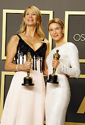 Laura Dern and Renée Zellweger at the 92nd Academy Awards - Press Room held at the Dolby Theatre in Hollywood, USA on February 9, 2020.