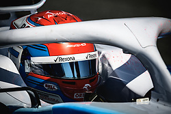 February 28, 2019 - Barcelona, Catalonia, Spain - GEORGE RUSSEL (GBR) from team Williams takes to the track in his in his FW42 during day seven of the Formula One winter testing at Circuit de Catalunya (Credit Image: © Matthias OesterleZUMA Wire)